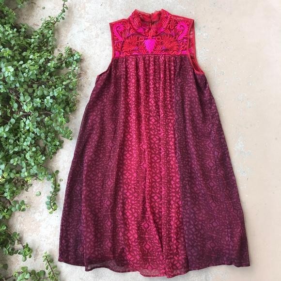 95d962c4ed258 Anthropologie Dresses & Skirts - Niki Mahajan Anthropologie Amara Swing  Dress